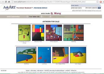 Q. Wang Art by saranaqvi
