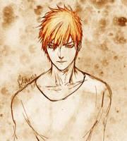 Orange Prince (Kurosaki Ichigo) by Astranya