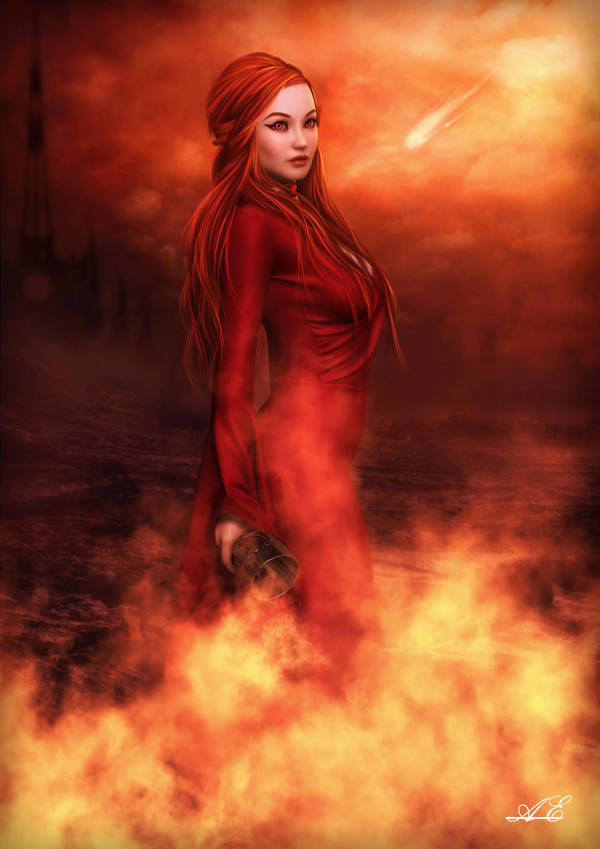 The Red Woman of Asshai by AelarethElennar