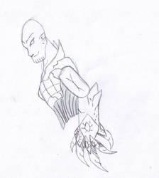 Thanos for Operaghost21 by Dragonsmana