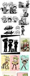KnT Art Dump 2 by Z-T00N
