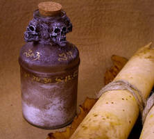 Witch Bottle 2 by MrZarono