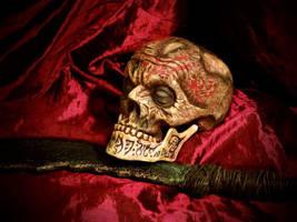 The Lich Skull by MrZarono