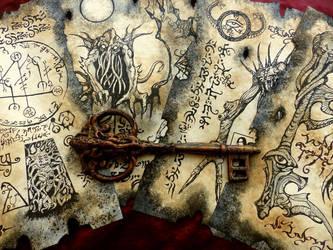 Rlyeh Key by MrZarono