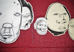 Floating Heads Detail 4 by ZombAug