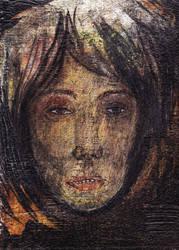 Portrait of a Zombie Girl by ZombAug