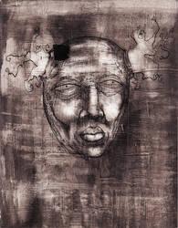 Untitled Face Study 3 by ZombAug