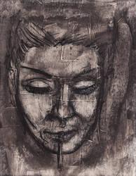 Untitled Face Study 4 by ZombAug