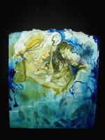 Untitled Watercolored Zombie by ZombAug