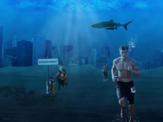 Marathon subaquatique by Eymele