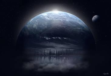Le bout du monde ... by Eymele