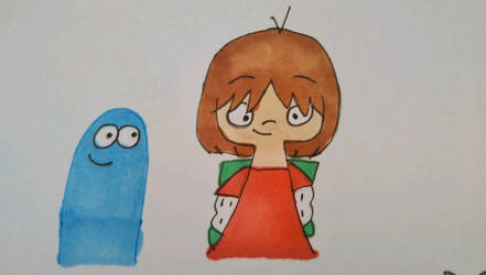 Mac and Bloo by coconuts777