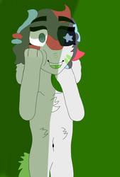 GREEN (Art trade!!) by BT-2345