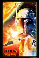 Star Wars : Boba Fett by jdesigns79