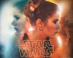 Star Wars: Leia by jdesigns79