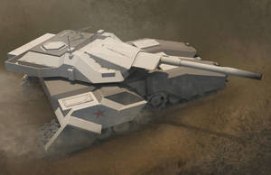 Russian tank by fgao1