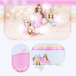Carrie Underwood Premade Layout by littlebutterflyxxx