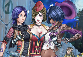Borderlands The Pre-Sequel, Choose your Character by Luran-V