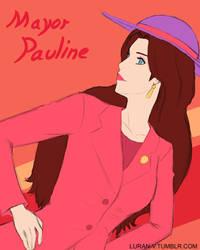 Mayor Pauline - Super Mario Odyssey by Luran-V