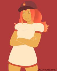 Flame Princess by Luran-V