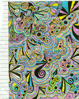 LSD drawing by MomoJunko