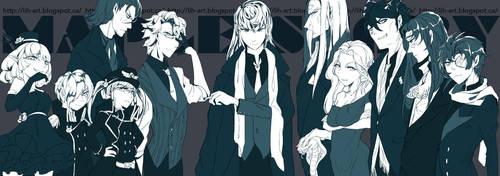 commanders by HZ-ink