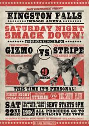 Saturday Night Smack Down by 82percentevil