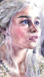 Daenerys Targaryen / Emilia Clarke by YasminGZ
