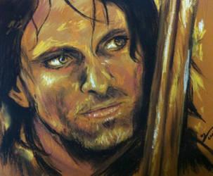 Aragorn (Viggo Mortensen) Lord of the Rings by YasminGZ
