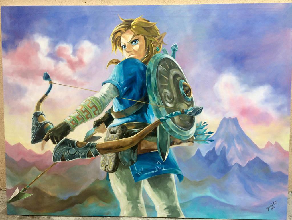 The legend of Zelda: Breath of the Wild, Link by YasminGZ