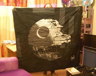 Death Star Quilt by fera-festiva