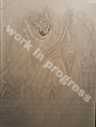 old gods 4: worship at the altar of death (wip) by antpanstudios