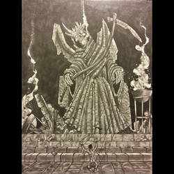 old gods 4- worship at the altar of death by antpanstudios