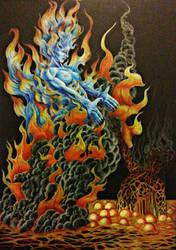 salvation in perdition's flames by antpanstudios
