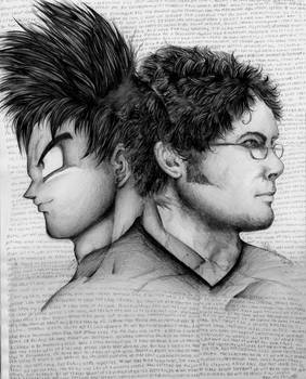 Goku Sean Schemmel Portrait by Vegetasotherwife