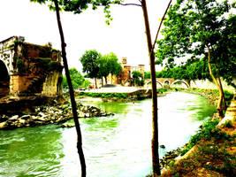 Tiber River by HeyGil