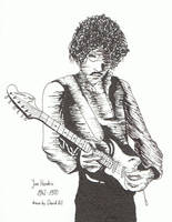 Jimi Hendrix by HeyGil