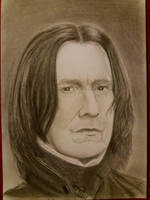 Severus Snape by satandap