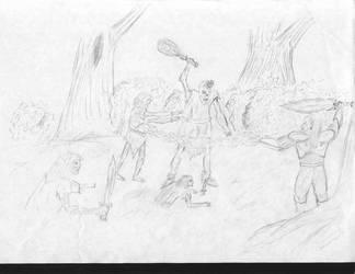 Legasy of Kain: Kain vs undead by IvanSV