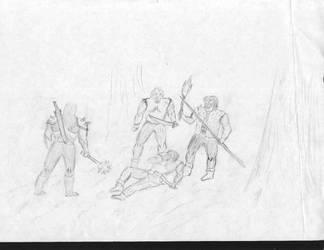 Legasy of Kain: Kain vs Bandits by IvanSV