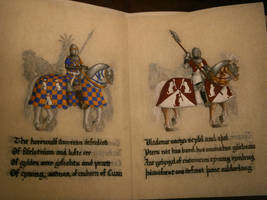12 Knights of Atlantia - Cuan and Vlad by Merwenna