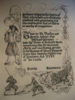 Wymarc's Sable Blade by Merwenna