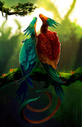 Lluvia Tropical by NeonCorvid