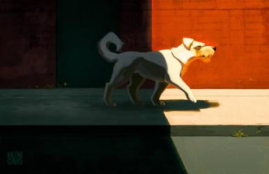 Dog by NeonCorvid