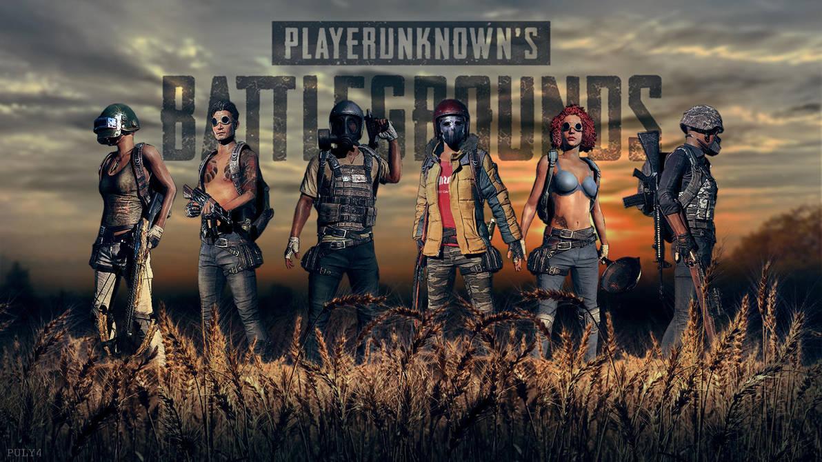Playerunknowns Battleground Wallpaper By Puly4 On Deviantart