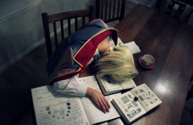 Worked too hard - Howl's Moving Castle by TurnipMoon