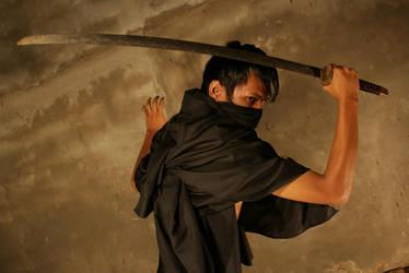 Samurai Shadow by arya-poenya-stock