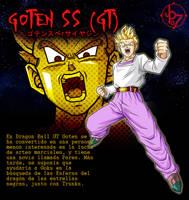 Goten SSJ GT BT3 Artbox by jeanpaul007