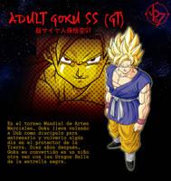 Adult Goku SSJ GT BT3 Artbox by jeanpaul007
