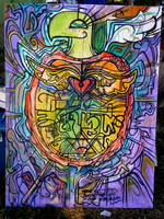 Live art prints and paintings by crazyredbeard